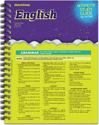 Barcharts English Study Notebook